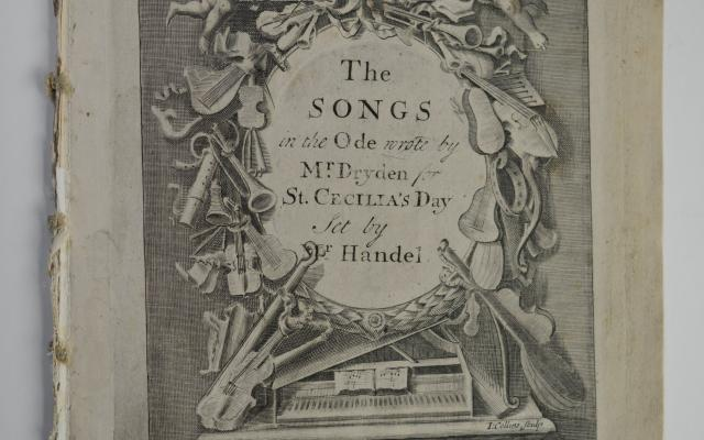 Nr. 4: Ode for St. Cecilia's Day