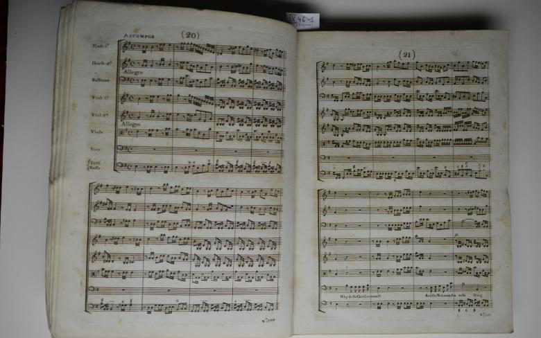 Nr. 6: The Occasional Oratorio, Detail