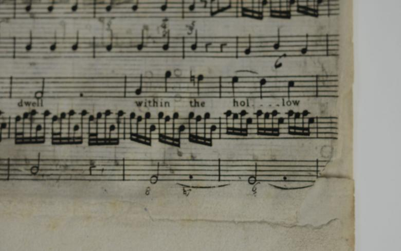 Nr. 4: Ode for St. Cecilia's Day, Detail